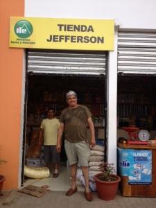 """Jefferson found his own """"Tienda"""" (store)!"""