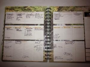 Calendar BEFORE moving to Ecuador