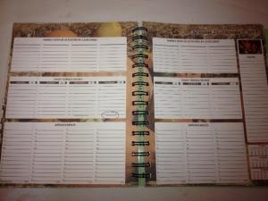 Calendar AFTER moving to Ecuador