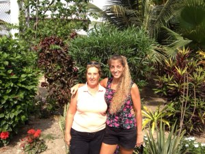 Tulia and Jo - my visa angels!