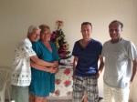 Bill, Elaine, Robert & Mesfin