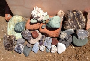 Growing rock garden!
