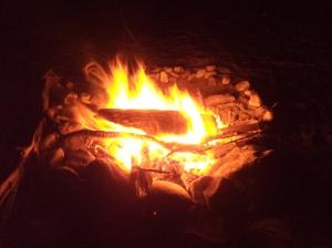 Beautiful bonfire!