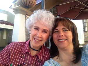 Me with my Birthmother, Mary - taken at my last visit last April.