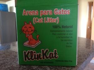 Clumping cat litter - hooray!